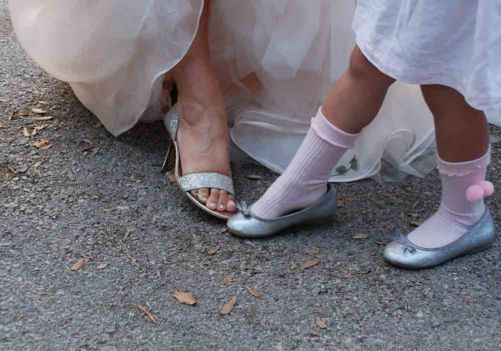 piedi di donne