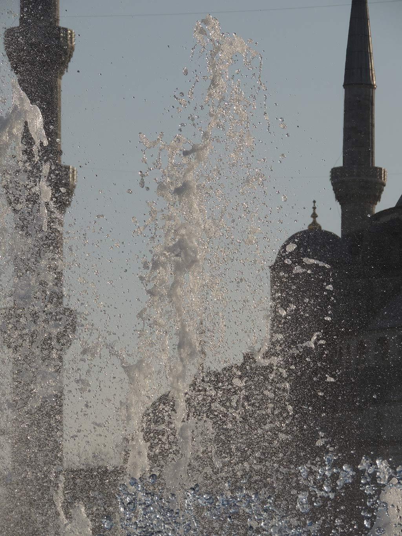 giochi d'acqua ad istanbul