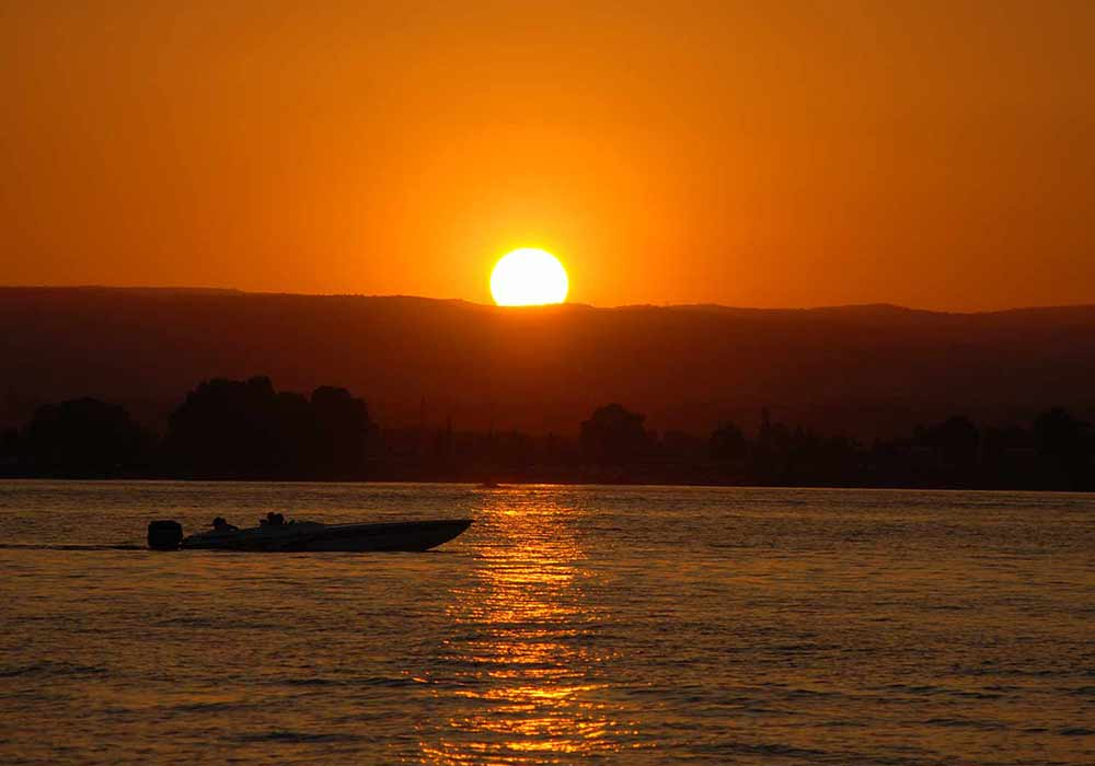 siracusa al tramonto